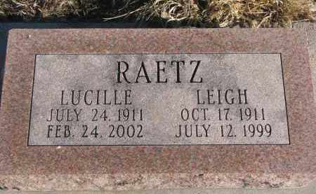 RAETZ, LEIGH - Stanton County, Nebraska | LEIGH RAETZ - Nebraska Gravestone Photos
