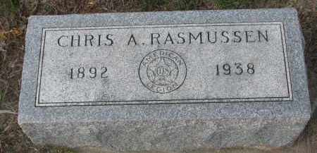 RASMUSSEN, CHRIS A. - Stanton County, Nebraska | CHRIS A. RASMUSSEN - Nebraska Gravestone Photos