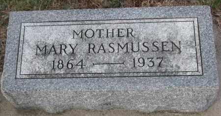 RASMUSSEN, MARY - Stanton County, Nebraska | MARY RASMUSSEN - Nebraska Gravestone Photos