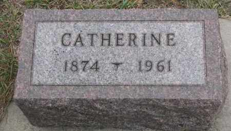 RATHMAN, CATHERINE - Stanton County, Nebraska | CATHERINE RATHMAN - Nebraska Gravestone Photos