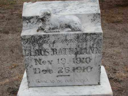 RATHMAN, INFANT DAUGHTER - Stanton County, Nebraska | INFANT DAUGHTER RATHMAN - Nebraska Gravestone Photos