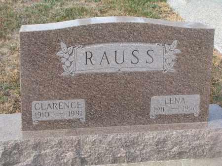 RAUSS, CLARENCE - Stanton County, Nebraska   CLARENCE RAUSS - Nebraska Gravestone Photos
