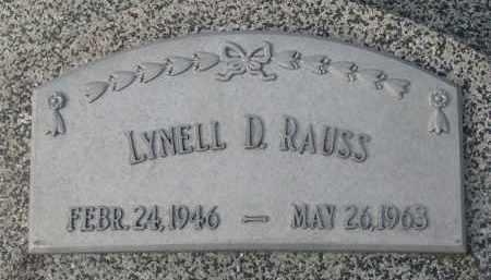 RAUSS, LYNELL D. - Stanton County, Nebraska   LYNELL D. RAUSS - Nebraska Gravestone Photos