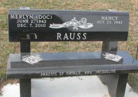 RAUSS, NANCY - Stanton County, Nebraska | NANCY RAUSS - Nebraska Gravestone Photos