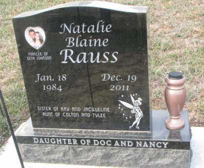RAUSS, NATALIE BLAINE - Stanton County, Nebraska | NATALIE BLAINE RAUSS - Nebraska Gravestone Photos