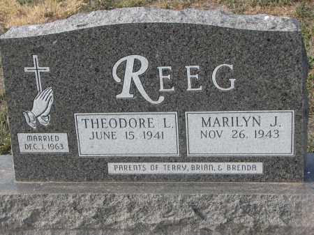REEG, THEODORE L. - Stanton County, Nebraska | THEODORE L. REEG - Nebraska Gravestone Photos
