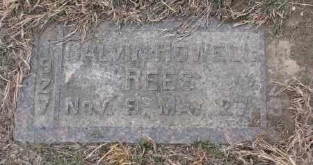 REES, CALVIN HOWELL - Stanton County, Nebraska | CALVIN HOWELL REES - Nebraska Gravestone Photos
