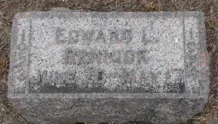 RENNICK, EDWARD L. - Stanton County, Nebraska   EDWARD L. RENNICK - Nebraska Gravestone Photos