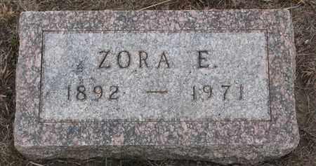 RENNICK, ZORA E. - Stanton County, Nebraska   ZORA E. RENNICK - Nebraska Gravestone Photos