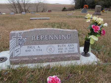 REPENNING, RUTH ANN - Stanton County, Nebraska | RUTH ANN REPENNING - Nebraska Gravestone Photos