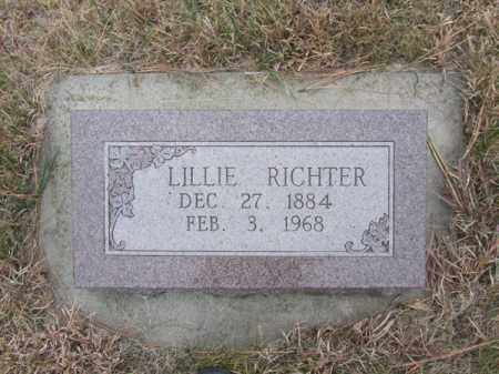RICHTER, LILLIE - Stanton County, Nebraska | LILLIE RICHTER - Nebraska Gravestone Photos