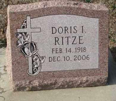 RITZE, DORIS I. - Stanton County, Nebraska | DORIS I. RITZE - Nebraska Gravestone Photos