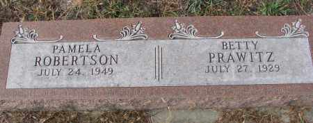 PRAWITZ, BETTY - Stanton County, Nebraska | BETTY PRAWITZ - Nebraska Gravestone Photos