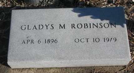 ROBINSON, GLADYS M. - Stanton County, Nebraska | GLADYS M. ROBINSON - Nebraska Gravestone Photos
