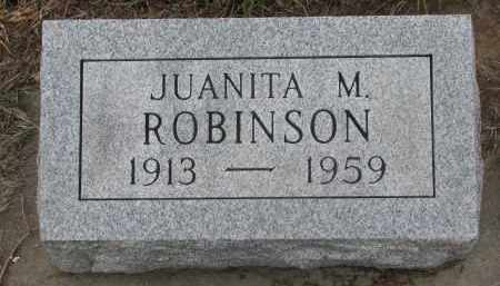 ROBINSON, JUANITA M. - Stanton County, Nebraska   JUANITA M. ROBINSON - Nebraska Gravestone Photos
