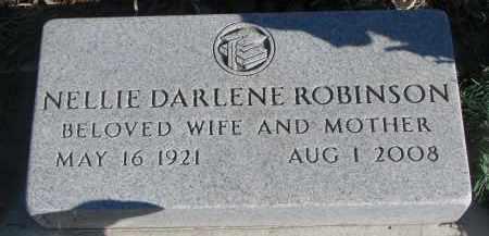 ROBINSON, NELLIE DARLENE - Stanton County, Nebraska | NELLIE DARLENE ROBINSON - Nebraska Gravestone Photos