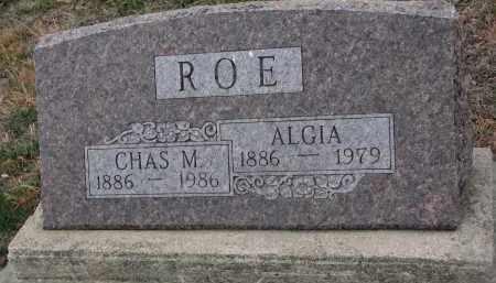 ROE, CHAS. M. - Stanton County, Nebraska | CHAS. M. ROE - Nebraska Gravestone Photos