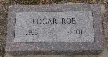 ROE, EDGAR - Stanton County, Nebraska | EDGAR ROE - Nebraska Gravestone Photos