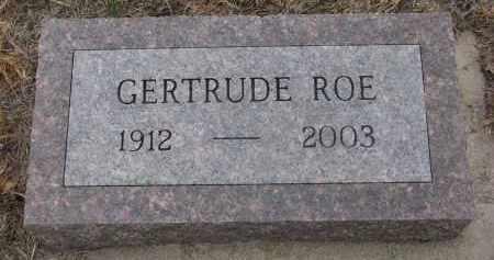 ROE, GERTRUDE - Stanton County, Nebraska | GERTRUDE ROE - Nebraska Gravestone Photos