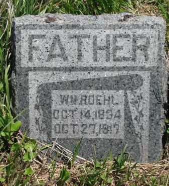 ROEHL, WILLIAM - Stanton County, Nebraska   WILLIAM ROEHL - Nebraska Gravestone Photos