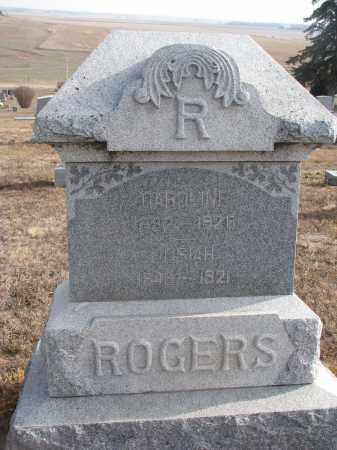 ROGERS, JOSIAH - Stanton County, Nebraska | JOSIAH ROGERS - Nebraska Gravestone Photos