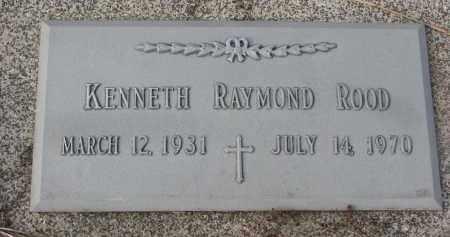 ROOD, KENNETH RAYMOND - Stanton County, Nebraska | KENNETH RAYMOND ROOD - Nebraska Gravestone Photos
