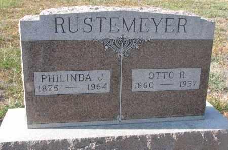 RUSTEMEYER, PHILINDA J. - Stanton County, Nebraska | PHILINDA J. RUSTEMEYER - Nebraska Gravestone Photos