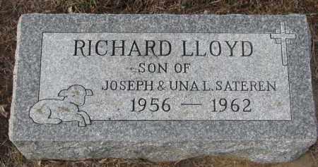 SATEREN, RICHARD LLOYD - Stanton County, Nebraska | RICHARD LLOYD SATEREN - Nebraska Gravestone Photos