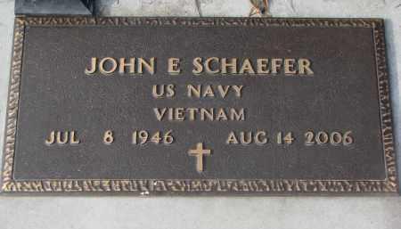 SCHAEFER, JOHN E. - Stanton County, Nebraska | JOHN E. SCHAEFER - Nebraska Gravestone Photos