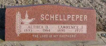 SCHELLPEPER, ALTHEA D. - Stanton County, Nebraska | ALTHEA D. SCHELLPEPER - Nebraska Gravestone Photos