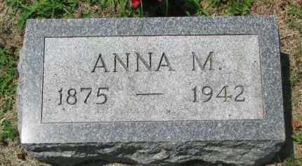 SCHELLPEPER, ANNA M. - Stanton County, Nebraska | ANNA M. SCHELLPEPER - Nebraska Gravestone Photos