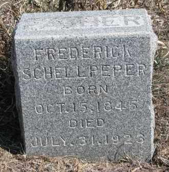 SCHELLPEPER, FREDERICK - Stanton County, Nebraska | FREDERICK SCHELLPEPER - Nebraska Gravestone Photos