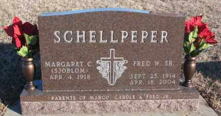 SCHELLPEPER, FRED W. SR. - Stanton County, Nebraska | FRED W. SR. SCHELLPEPER - Nebraska Gravestone Photos