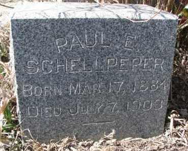 SCHELLPEPER, PAUL E. - Stanton County, Nebraska | PAUL E. SCHELLPEPER - Nebraska Gravestone Photos