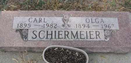 SCHIERMEIER, CARL - Stanton County, Nebraska | CARL SCHIERMEIER - Nebraska Gravestone Photos