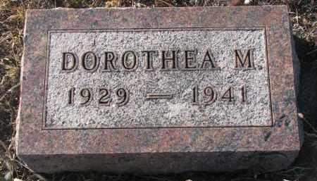 SCHLUETER, DOROTHEA M. - Stanton County, Nebraska | DOROTHEA M. SCHLUETER - Nebraska Gravestone Photos