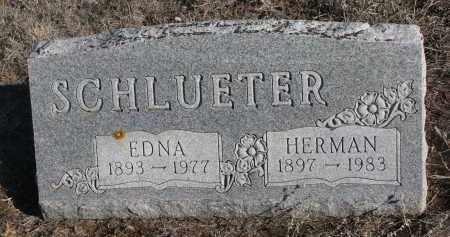 SCHLUETER, EDNA - Stanton County, Nebraska | EDNA SCHLUETER - Nebraska Gravestone Photos