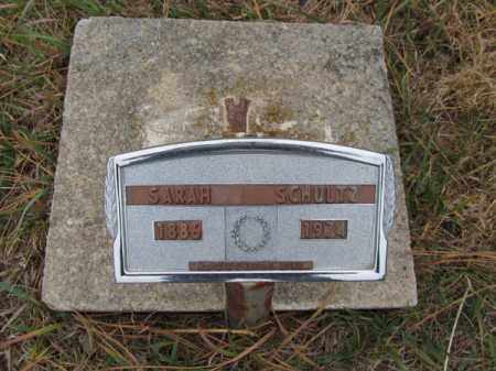 SCHULTZ, SARAH - Stanton County, Nebraska | SARAH SCHULTZ - Nebraska Gravestone Photos