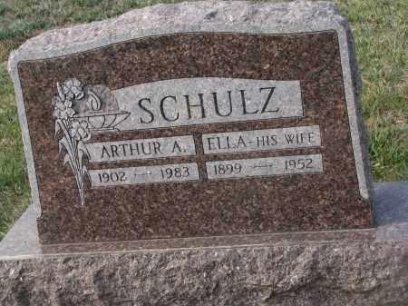 SCHULZ, ELLA - Stanton County, Nebraska   ELLA SCHULZ - Nebraska Gravestone Photos