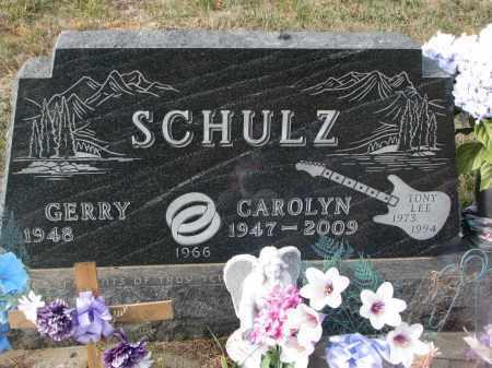 SCHULZ, GERRY - Stanton County, Nebraska | GERRY SCHULZ - Nebraska Gravestone Photos