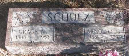 SCHULZ, GRACE N. - Stanton County, Nebraska | GRACE N. SCHULZ - Nebraska Gravestone Photos