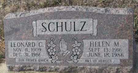 SCHULZ, LEONARD C. - Stanton County, Nebraska   LEONARD C. SCHULZ - Nebraska Gravestone Photos