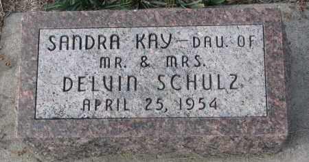 SCHULZ, SANDRA KAY - Stanton County, Nebraska | SANDRA KAY SCHULZ - Nebraska Gravestone Photos