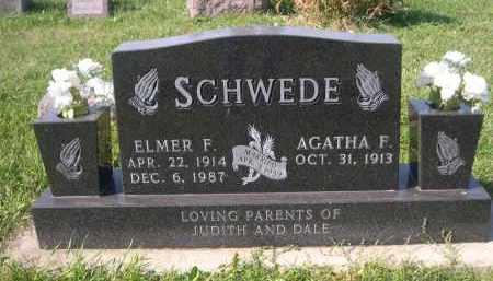 SCHWEDE, ELMER F. - Stanton County, Nebraska | ELMER F. SCHWEDE - Nebraska Gravestone Photos