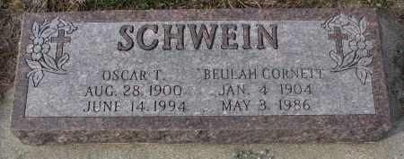 SCHWEIN, BEULAH - Stanton County, Nebraska | BEULAH SCHWEIN - Nebraska Gravestone Photos