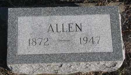 SHARP, ALLEN - Stanton County, Nebraska | ALLEN SHARP - Nebraska Gravestone Photos