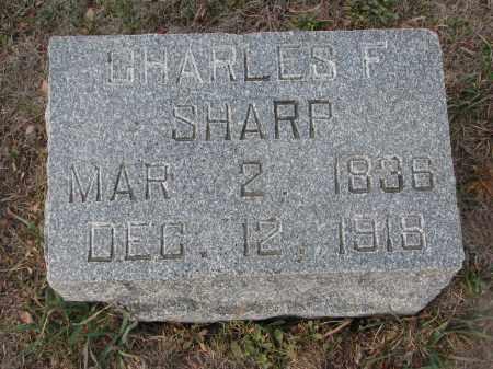 SHARP, CHARLES F. - Stanton County, Nebraska | CHARLES F. SHARP - Nebraska Gravestone Photos
