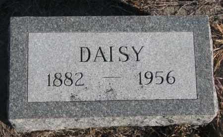SHARP, DAISY - Stanton County, Nebraska | DAISY SHARP - Nebraska Gravestone Photos