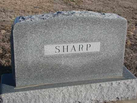 SHARP, PLOT STONE - Stanton County, Nebraska | PLOT STONE SHARP - Nebraska Gravestone Photos