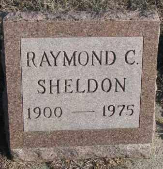 SHELDON, RAYMOND C. - Stanton County, Nebraska | RAYMOND C. SHELDON - Nebraska Gravestone Photos